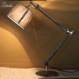 Doppelte Schalthebel-Arm-drehbare Nachttisch-Lampen-&Reading Beleuchtung für Schlafzimmer