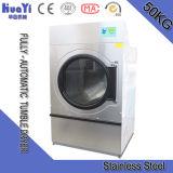 Hospital de 25kg de lavandería secadora a gas