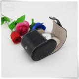 Caixa luxuosa Handmade de couro de relógio de Mens do plutônio para homens