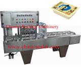 Tipo linear máquina de las ventas directas de la fábrica del lacre de la bandeja