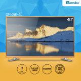 Téléviseur LED 1080P HD à prix abordable de 40 pouces avec alliage d'aluminium Fram Cp40we-5L