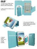 Случай сотового телефона PU цветастого одиночного окна всеобщий