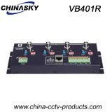 4 Channel UTP Cat5 / 6 Active CCTV Video Balun Receiver (VB401R)