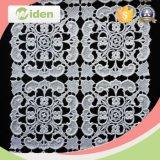 Tessuto chimico stampato del merletto del merletto del tessuto POM POM del trivello del cotone