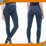 2016 джинсыов джинсовой ткани хлопка способа простирания женщин новых