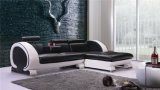 Sofá moderno do couro genuíno de Upholstery