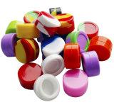 Mejores tarros superiores de Weed del silicón de los envases del concentrado de la cera