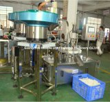 Automatisches Hair Cream Rotary Filling Capping Machine für Plastic Bottles
