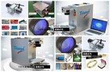 Máquina de la marca del laser de la fibra del triunfo 20W/mini marca portable del laser de la fibra para la insignia de la marca en los anillos del pájaro