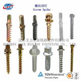 Slotted Coach Screw for Railway Wooden Sleeper