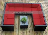 Neues Rattan-Möbel-Sofa-Luxuxset des großen Modell-Mtc-114 im Freien