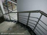 Railing балкона поручня лестницы нержавеющей стали 304