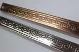 Tubo d'acciaio saldato dell'acciaio inossidabile 304 per la decorazione