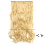 Clip di capelli ricci lunga dei capelli delle cinque clip nell'estensione dei capelli