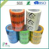 Nastro stampato dell'imballaggio di buona qualità BOPP per il sigillamento della scatola