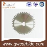La lame circulaire de carbure de tungstène avec a vu des extrémités