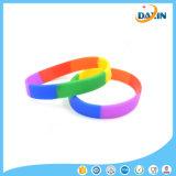 Bracelet et bracelet colorés de silicones de bracelet de bracelet de silicones