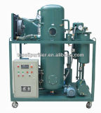 Épurateur pertinent élevé d'huile à moteur de vide avec le séparateur d'eau
