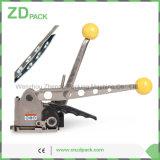 Ручной стальной инструмент упаковки машины комбинации Buckleless планки на прокладка металла 25mm