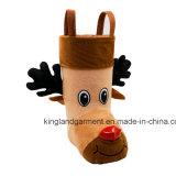 Polyester-Qualitäts-Weihnachtsdekoration-Ren-Artbrown-Süßigkeit-Aufladung
