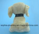 Brinquedo macio 20cm do cão do luxuoso