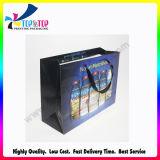 Bolsa de papel revestido impresa Cmyk colorida de la venta al por mayor de la bolsa de papel de la promoción