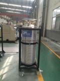 Cilindro industriale del Dewar dell'anidride carbonica dell'argon dell'azoto dell'ossigeno liquido