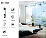 Gebruik van de Hardware van de Schuifdeur van het glas het Enige B008 voor Badkamers
