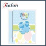 glatter lamellierter 157GSM Kunstdruckpapier-Babyschuh-Geschenk-Papierbeutel