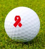 Sellos de la pelota de golf del palo de rosa