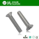 ステンレス鋼の十六進ソケットによってさら穴を開けられるヘッドねじ(DIN7991)