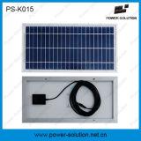 sistema energetico del comitato solare della batteria 5200mAh/7.4vlithium-Ion per il carico del telefono mobile ed illuminarsi