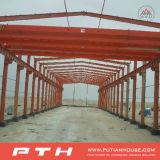 Almacén de la casa prefabricada de la estructura de acero del bajo costo