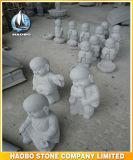 Pierre de statue de moine de Shaolin