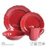 Insieme di pranzo di ceramica