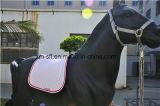馬の綿の跳躍のサドルのパッド