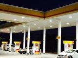 Iluminación del pabellón de Sattion de la gasolina del conductor IP65 LED de Meanwell