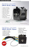 motor del coche eléctrico de 48/72V/96V/102V 10kw