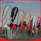 Bewegliche Markierungsfahnen-Fahnen-im Freienmarkierungsfahne Pole (LT-17C)