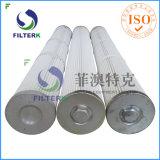 De Filterk Geplooide Patroon van de Draad van de Polyester