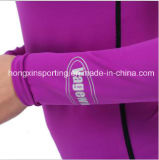 Protetor de duas partes do prurido de Lycra, Swimwear, desgaste dos esportes, terno surfando & terno de mergulho