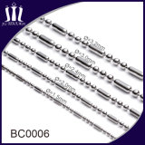 316L catena del branello della sfera dell'acciaio inossidabile 2.4mm