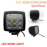 Jeep Offroad 4X4のための90W Squar LED LED Work Light