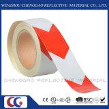 지면 표하기 (C1300-AW)를 위한 빨간 화살 사려깊은 접착 테이프