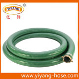 Tuyau vert d'aspiration de PVC