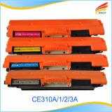 양립한 HP Ce310A, Ce311A, Ce312A 의 Ce313A Ce314A 색깔 토너 카트리지