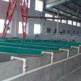 Système de traitement préparatoire de submersion de réservoir d'usine d'enduit de poudre