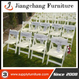 Resin bianco Folding Chair per Outdoor Wedding