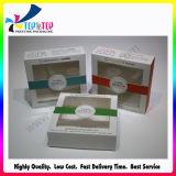 Buen papel de calidad Ventana cosmética caja de almacenamiento