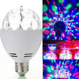 세륨 RoHS Approved 3W E27 RGB Reotating Mini Disco Bulb